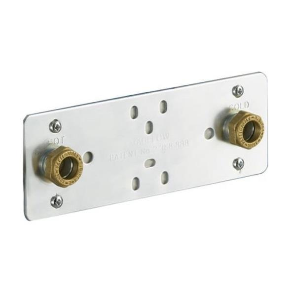 Marflow Wall Fixing Plate For Bar Shower Valves Pl8