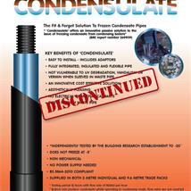 Condensulate Condensing Boiler Pipe Insulation 9.6m Pipe Only
