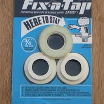 "ESSEX Fix-A-Tap 3/4"" 36mm Acrylic Bath Taps/Mixer Fittings Kit Blue"