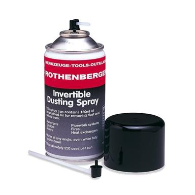 ROTHENBERGER Invertible Dusting Spray 150ml 67052