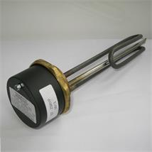 "Immersion Heater 14"" Incoloy 3kW 1 3/4"" BSP Head, c/w Thermostat, CESTB-340"