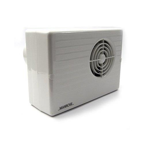 Manrose 100mm centrifugal bathroom extractor fan w timer Most powerful bathroom extractor fan