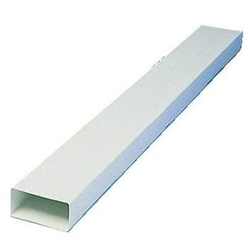 MANROSE 110MMx54MM LOW PROFILE DUCTING FLAT CHANNEL 1.5MTR