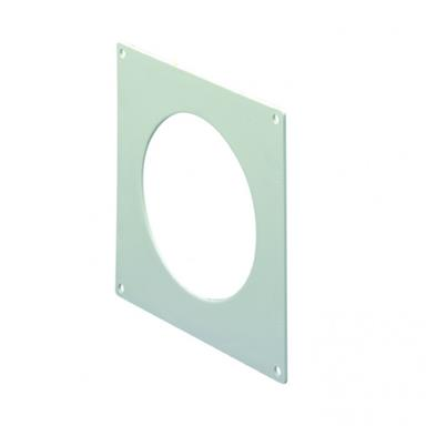 MANROSE ROUND WALL PLATE FOR 125MM ROUND DUCTING