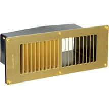 STADIUM VENTILATION BM435/1 Floor Ventilator, Brass