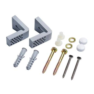L BRACKETS WC PAN FIXING KIT