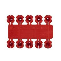 BOX(100) TP2 THORSMAN RED PLUGS
