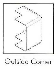 AD150C/2 15MM TAL D/TRUNK OUT CORNER (2 PER PACK)
