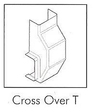 AD15CT 15MM TAL D/TRUNK CROSS OVER TEE CON(EACH)
