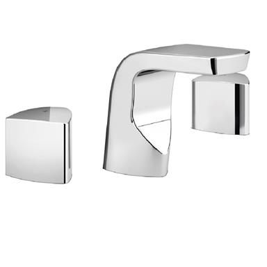 BRISTAN Bright 3 Hole Basin Mixer Chrome BRG 3HBAS C
