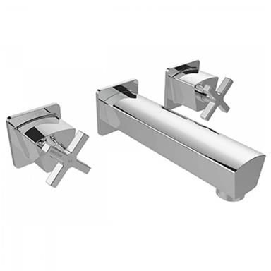 BRISTAN Cascade Wall Mounted Bath Filler Chrome CAS WMBF C