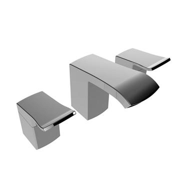 BRISTAN Descent 3 Hole Basin Mixer ChromeDSC 3HBAS C