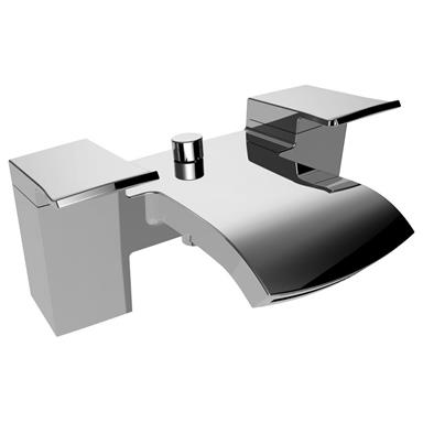 BRISTAN Descent Bath Shower Mixer Chrome DSC BSM C