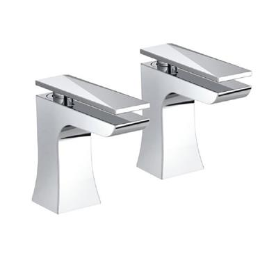 BRISTAN Ebony Bath Taps Chrome EBY 3/4 C