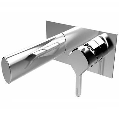 BRISTAN Flute Wall Mounted Bath Filler Chrome FLT WMBF C