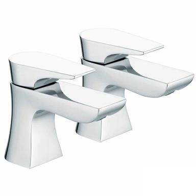 BRISTAN Hourglass Bath Taps Chrome HOU 3/4C