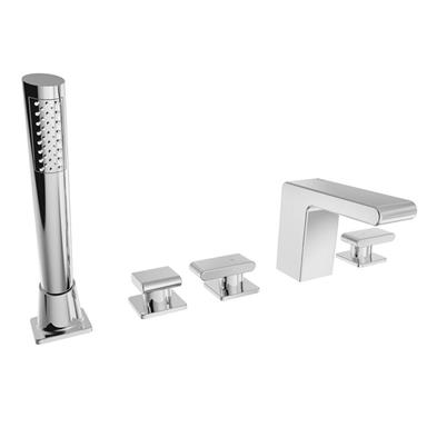 BRISTAN Pivot 5 Hole Bath Shower Mixer Chrome PIV 5HBSM C