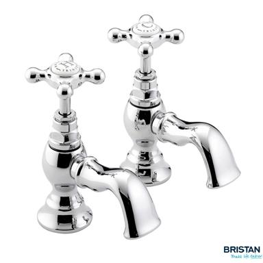 BRISTAN Trinity Basin Taps Chrome Plated TY 1/2 C