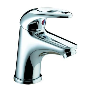 BRISTAN Java Small Single Lever Basin Mixer w/ Clicker Waste Chrome Plated J SMBAS C