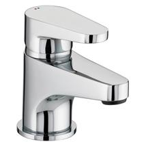BRISTAN Quest Single Lever Basin Mixer w/ Clicker Waste Chrome Plated QST BAS C