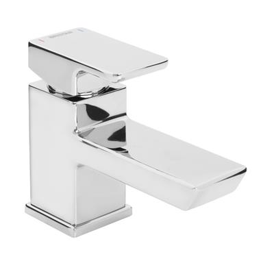 BRISTAN Cobalt Single Lever Basin Mixer w/ Clicker Waste, Chrome Plated, COB BAS C