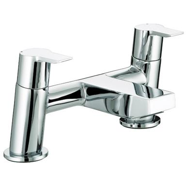 BRISTAN Pisa Deck Mounted Bath Filler/Mixer Lever Handles Chrome Plated PS BF C