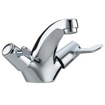 BRISTAN Value Lever Monobloc Basin Mixer w/ Pop-Up Waste Chrome Plated VAL BAS C CD
