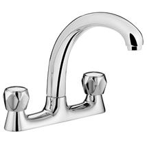 BRISTAN Value Club Deck Mounted Sink Mixer Chrome Plated VAC DSM C MT
