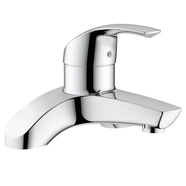 GROHE Eurosmart Single Lever Bath Filler Deck Mounted, Chrome Plated 25098 000