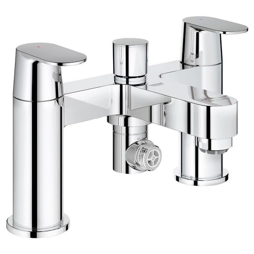 Frisch GROHE Eurosmart Cosmopolitan Bath/Shower Mixer, Lever Handles  WT84
