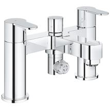GROHE BauEdge Bath/Shower Mixer, Lever Handles, Chrome, 25217 000