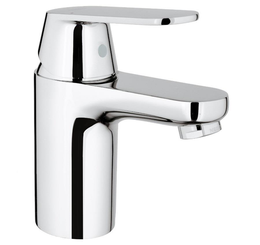 grohe eurosmart cosmo single lever basin mixer 1 2 no waste