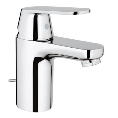 GROHE Eurosmart Cosmo Single Lever Basin Mixer w/ PUW Low/High Pressure 32825 00L