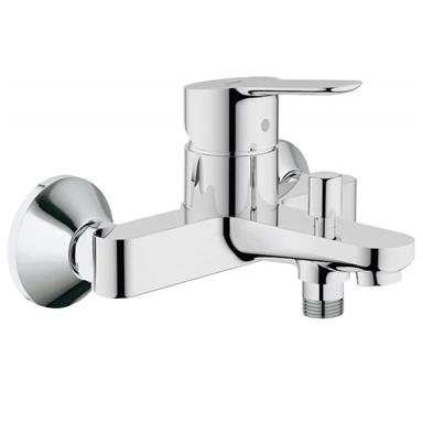 GROHE BauEdge Single Lever Bath/Shower Mixer Valve ONLY, Chrome, 23334 000