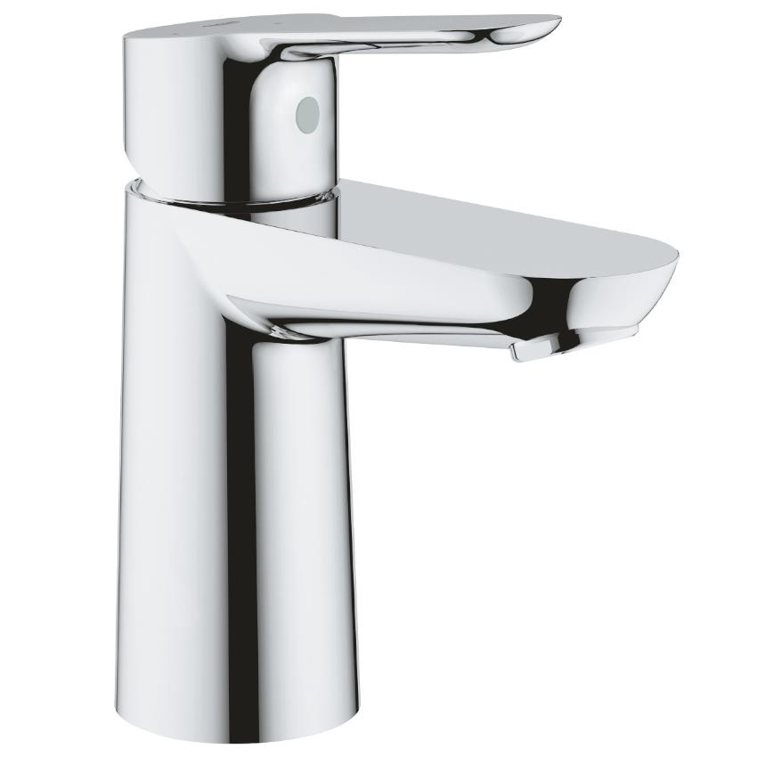 """GROHE BauEdge Basin Mixer, 1\/2"""" S-Size, Chrome, 23559000 - Plumbing For Less"""