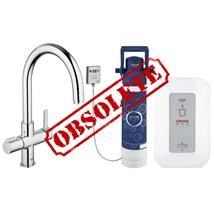 GROHE Red Duo Monobloc Kitchen Mixer Arched Spout and Single Boiler 4 Ltrs, 30058 000