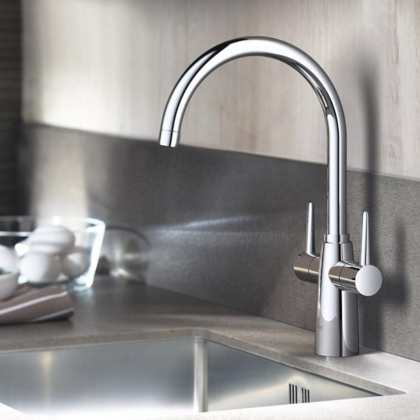 Grohe Ambi Contemporary Kitchen Sink Mixer