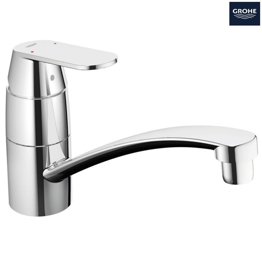 grohe kitchen sink taps grohe eurosmart cosmopolitan monobloc kitchen sink mixer 4103