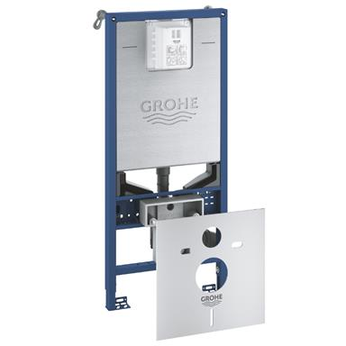 GROHE Rapid SLX 3 in 1 WC Set incl. 1.13m Concealed Frame and Cistern, 39598 000