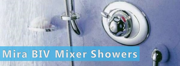 Mira Built-In Mixer Showers