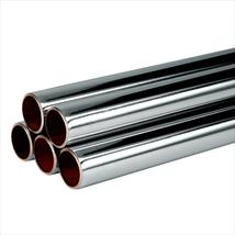 Copper Tube - Chrome Plated Hard Lengths