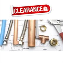 Clearance Plumbing and Fittings