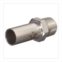 M-PRESS Stainless Steel Male Socket Adaptors
