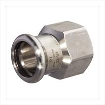 M-PRESS Stainless Steel Straight Female Adaptors
