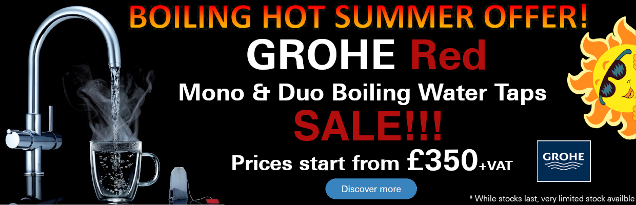 GROHE Old Red Taps Summer Offer