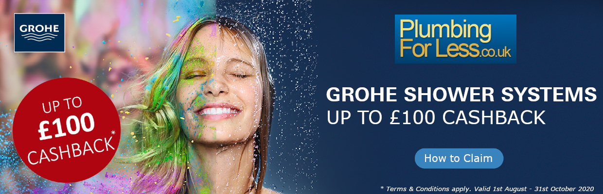 GROHE SmartControl Showers Systems Cashback Campaign 2020